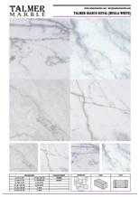 Talmer Bianco Royal Marble Tiles, Slab(Mugla White Marble Tiles, Slab)