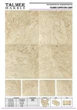 Talmer Cappuccino Light Marble Tiles, Slab