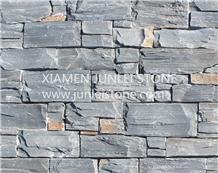 Cement Stone Panel Loose Stone Veneers Green Slate