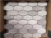 Mosaic Wall Mosaic Kitchen Mosaic Hexagon Mosaic