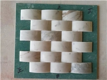 Wall Mosaic Kitchen Mosaic Basketweave Mosaic