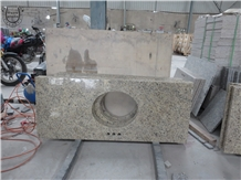 Brazil Granite Giallo Bajo Countertops