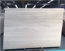 Cheap Price Chinese White Wood Grain Marble