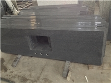 Chinese Dark Grey Granite Kitchentop