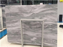 White Color Engineered Tiles Snow White Marble