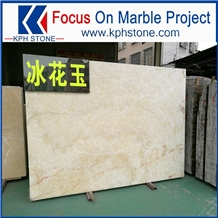 Ice Wood White Marble with High Grade