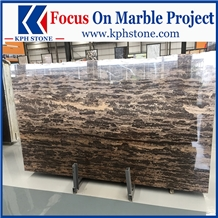 King Gold Gold Brown Coast Marble Tiles