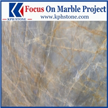 Kulun Gold Marble Slabs for Casino Decor