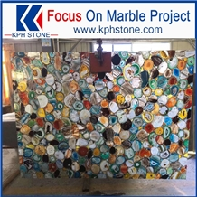 Luxury Colorful Agate Slab with Top Quality