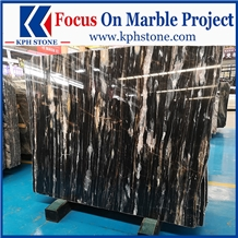 Phantom Black Marble Floor Covering Tiles