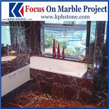 Rosso Lepanto Marble Bathroom Tops&Vanity Tops