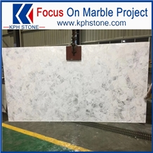 Semi Precious White Agate Slab for Luxury Brand