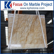 Yellow Grain Babylon Gold Marble Slabs