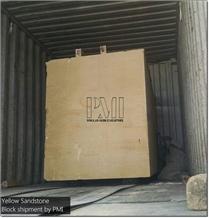 Mango Sandstone Blocks from Pakistan