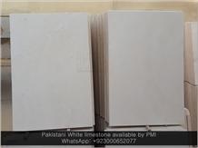 Pakistani White Limestone Wall Stone Cladding