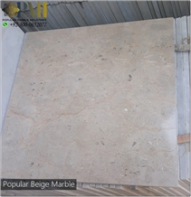 Popular Beige Marble Natural Marble Stone