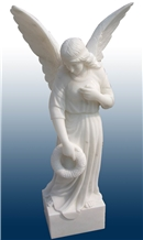 White Marble Sculpture Western Style Human Statue