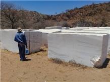 Namibia White Marble Blocks
