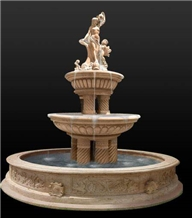 Natural Stone Marble Water Fountain Price Statue