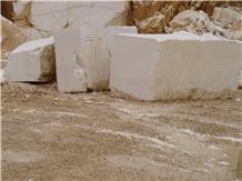 Thassos Snow White Marble Blocks