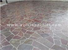 Porfido Grigio Viola Palladiana, Irregular Floor