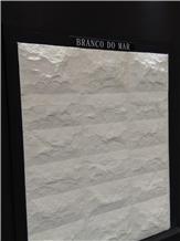 Branco Do Mar Limestone Splitface Wall Tiles