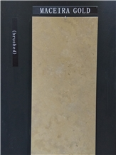 Maceira Gold Limestone Slabs, Tiles