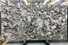 Snow Mountain Blue Granite Slabs