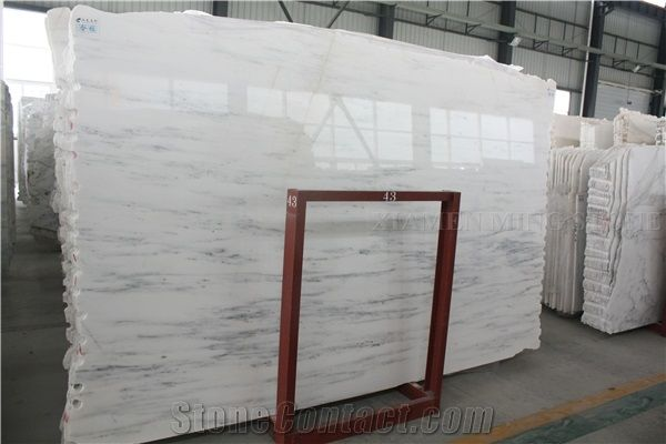 Bianco Dolomite Marble Slabs Star White