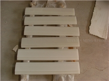 Pure Crystal White Marble Border Lines,Pencil Wall Molding Panel