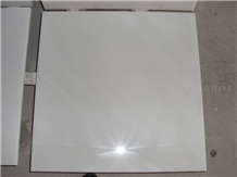 Pure Crystal White Marble Tile Panel,Floor Paving