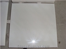 Pure Snow Crystal White Marble Tile, Wall Cladding Floor Covering Slab