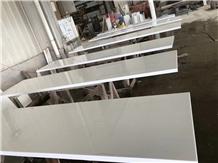 Super White Nano Glass Stone Kitchen Islands Countertop