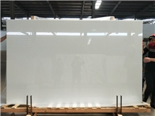 White Crystallized Stone Slab,Artificial Marble,White Nano Glass Panel