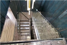 Gucci Grey Marble Staircase,Stair Riser,Treads