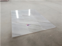 China White Marble Floor Tiles Indoor Project