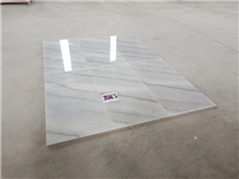 Guangxi White Marble Floor Wall Tiles Covering