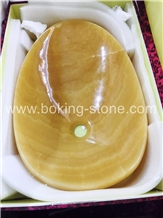 Yellow Agate Onyx Handicraft Work