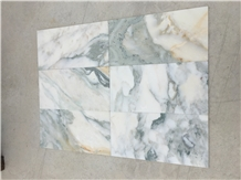 Turkish Calacatta Verde Marble Tile