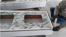 Arabescato Marble Bath Vanity Top