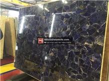 Blue Tiger Eye Agate Gemstone Semiprecious Stone