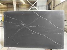China Stone Nero Marqino Thin Panel for Wall Decor