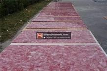 Pink Crystal Agate Gemstone