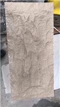 Split Portugal Beige Limestone for Wall Cladding