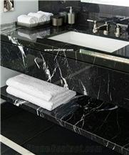 Toros Black Marble Tiles