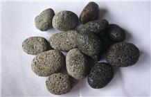 Black Lava Pebble, Black Egg Pebble Indonesia