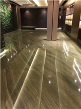 Coffee Wood Vein Marble for Wall and Floor Tiling