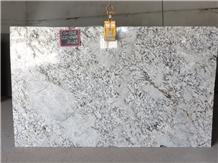 Alaska White Granite Slabs, India White Granite