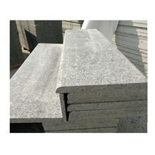 Chinese Light Grey Color Bala White Granite Steps