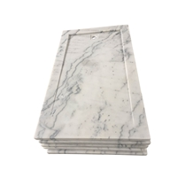 White Marble Shower Tray Guangxi White Marble